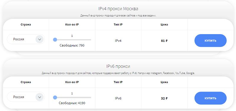 прокси ipv4 от socproxy