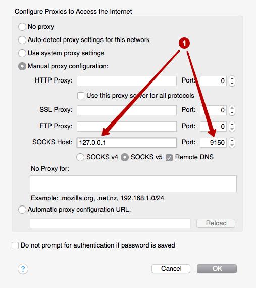 Как настроить подключение через прокси в Тор браузере