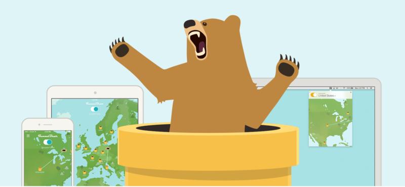 Расширение Tunnel Bear