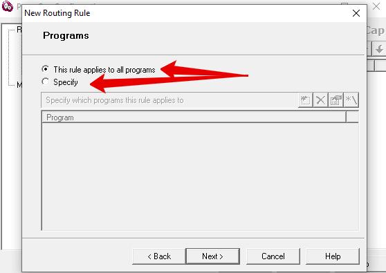 Как правильно настроить прокси в proxycap